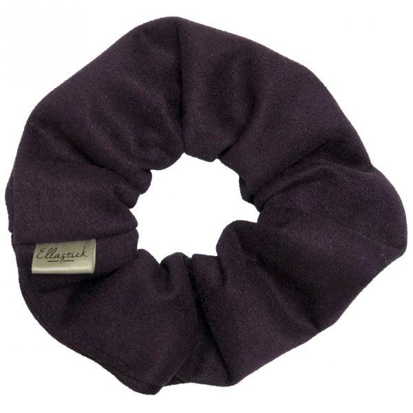 scrunchie zwart ellastiek