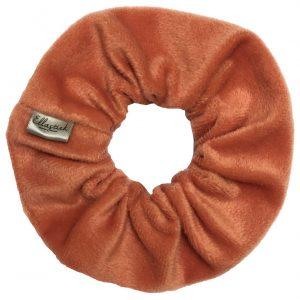 scrunchie oranje ellastiek