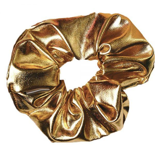 gouden scrunchie