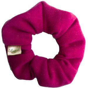 fuchsia scrunchie