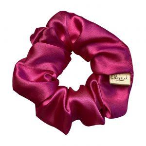 scrunchie fuchsia