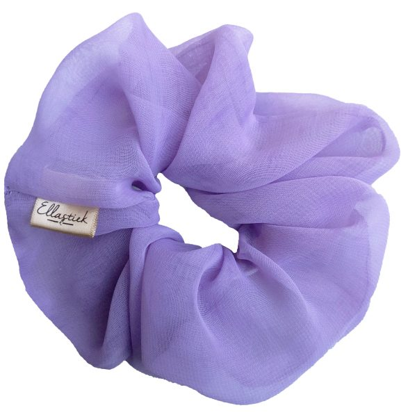 lila scrunchie