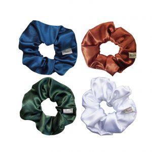 Scrunchie set- scrunchie pack scrunchies in verschillende stoffen en prints van goede kwaliteit