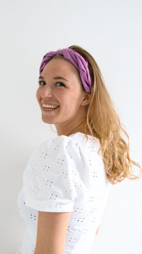 Fuchsia haarsjaal Marieke